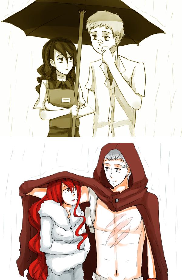 Akimitsu #9 : Rain by Reikiwie