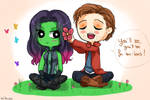 Flowers for Gamora
