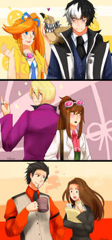 Pairings from Ace Attorney