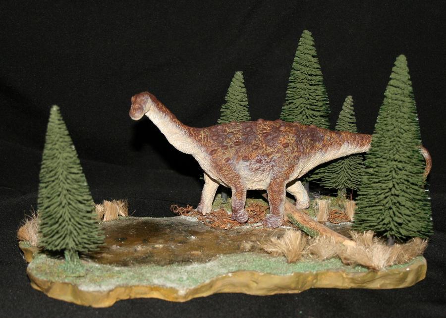 Arkharavia heterocelica probable sauropod by Maastriht123