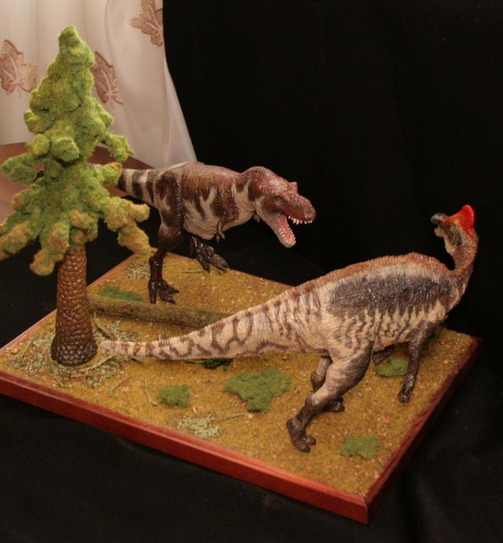 Albertosaurus periculosus vs Amurosaurus riabinini by Maastriht123