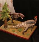 Albertosaurus periculosus vs Amurosaurus riabinini
