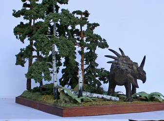 Styracosaurus albertensis.Late Cretaceous of Alber by Maastriht123