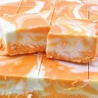 Orange Creamsicle Fudge by Asashoumikugi
