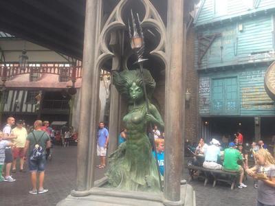 Creature Statue