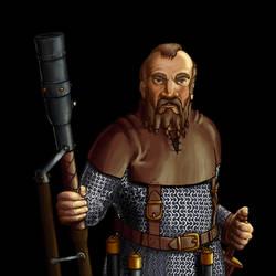 Wesnoth - Dwarf Thunderer