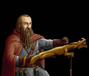 Wesnoth - Dwarf Dragonguard