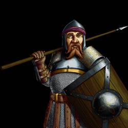 Wesnoth - Dwarf Guard