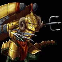 Wesnoth: Drake Enforcer