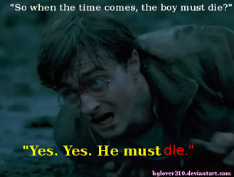 The Boy Who Lived Must Die by hglover210