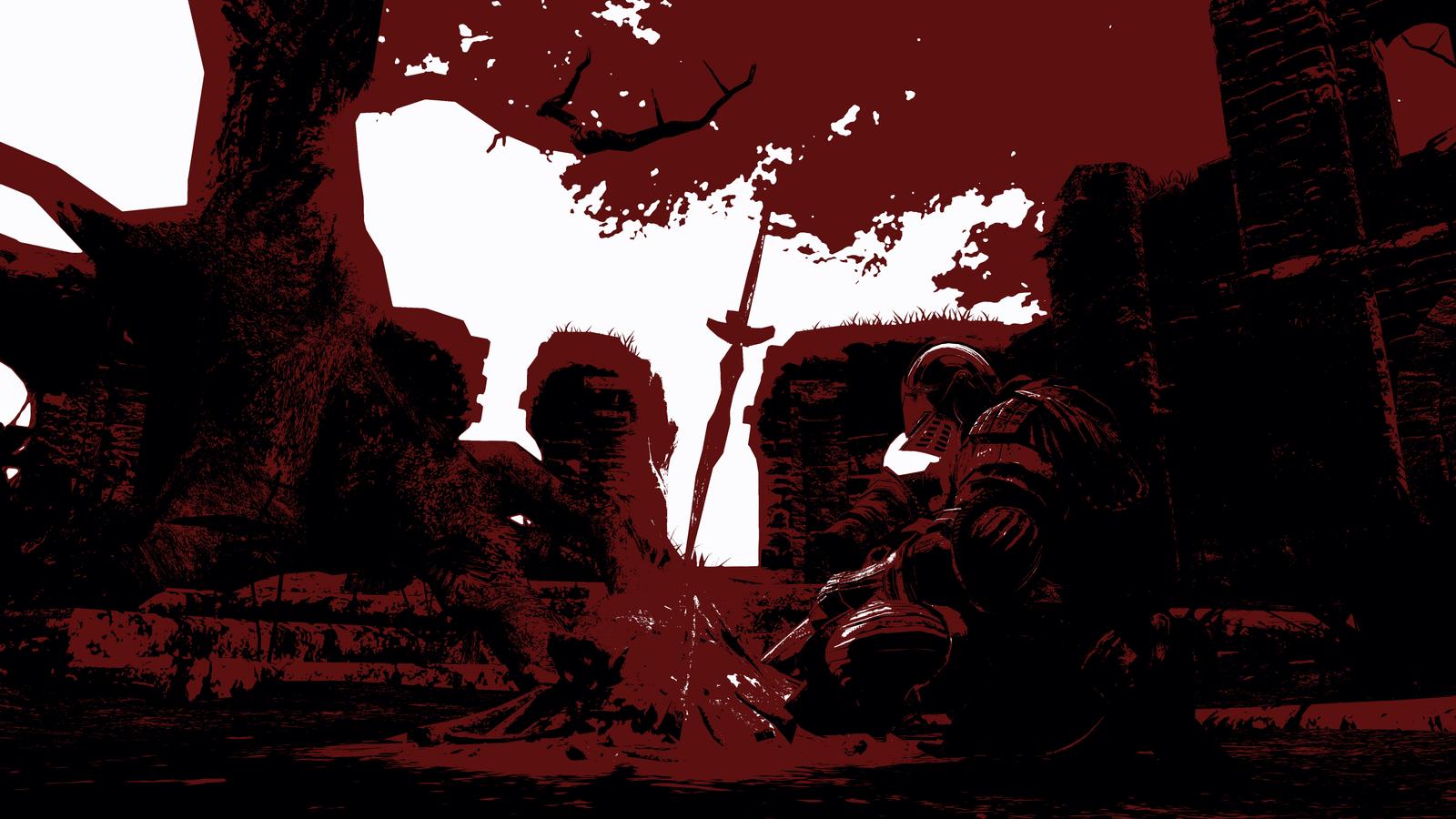 Dark Souls Art Print by Alo81