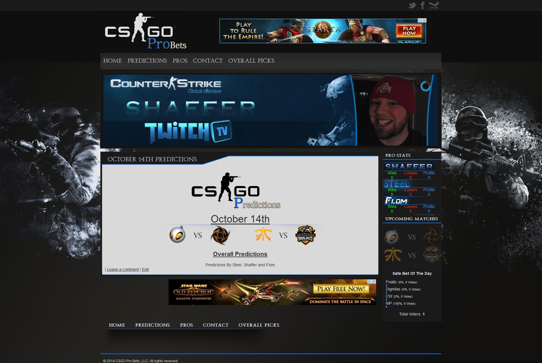 Csgo Pro Betting