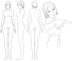famale adult anatomy ref