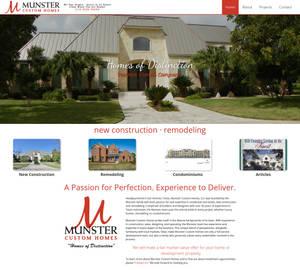 Munster Custom Homes  Homes of Distinction