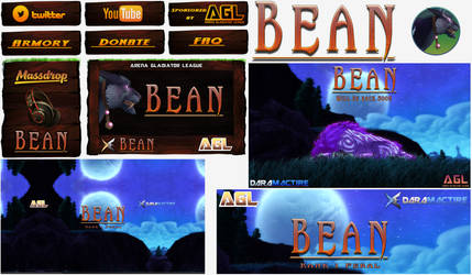 Bean Slayer X Twitch and Youtube Design