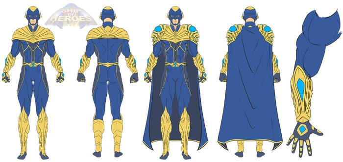 Concept Hero Costume for Ship of heroes
