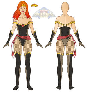 Sexy style Costume for Ship of heroes