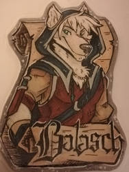 Balasch Medieval/Chivalry Badge, by Lionrae