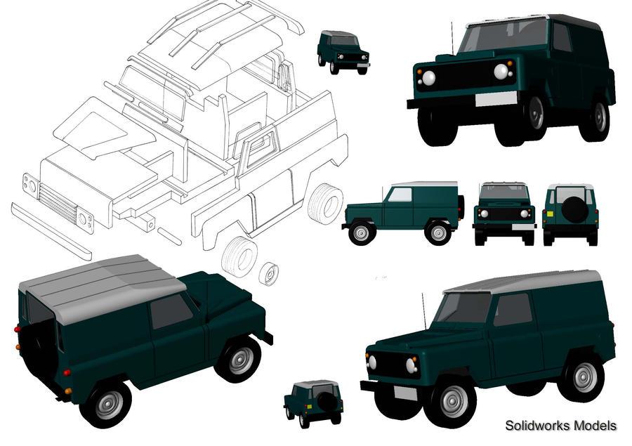 Range Rover Defender by Fetid-Wreck