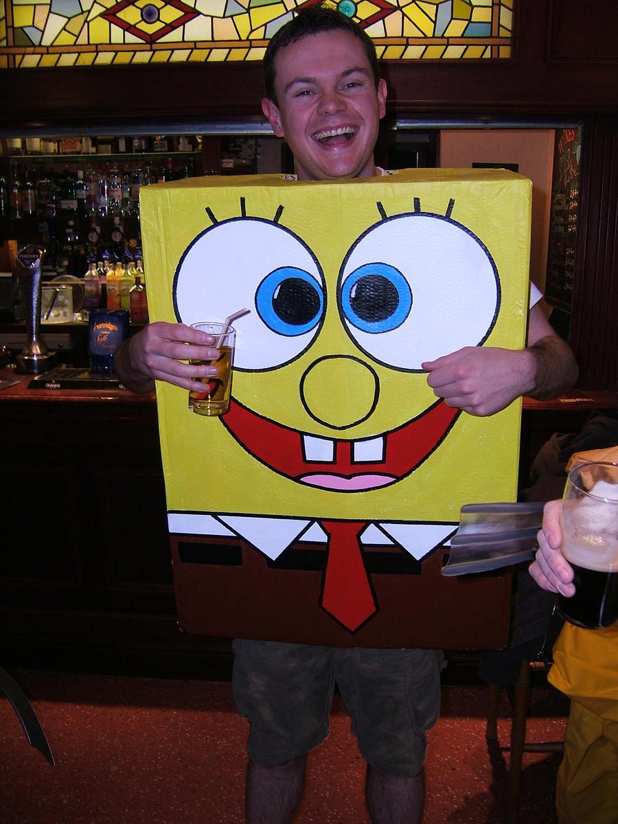 spongebob squarepants costume by fetid wreck on deviantart