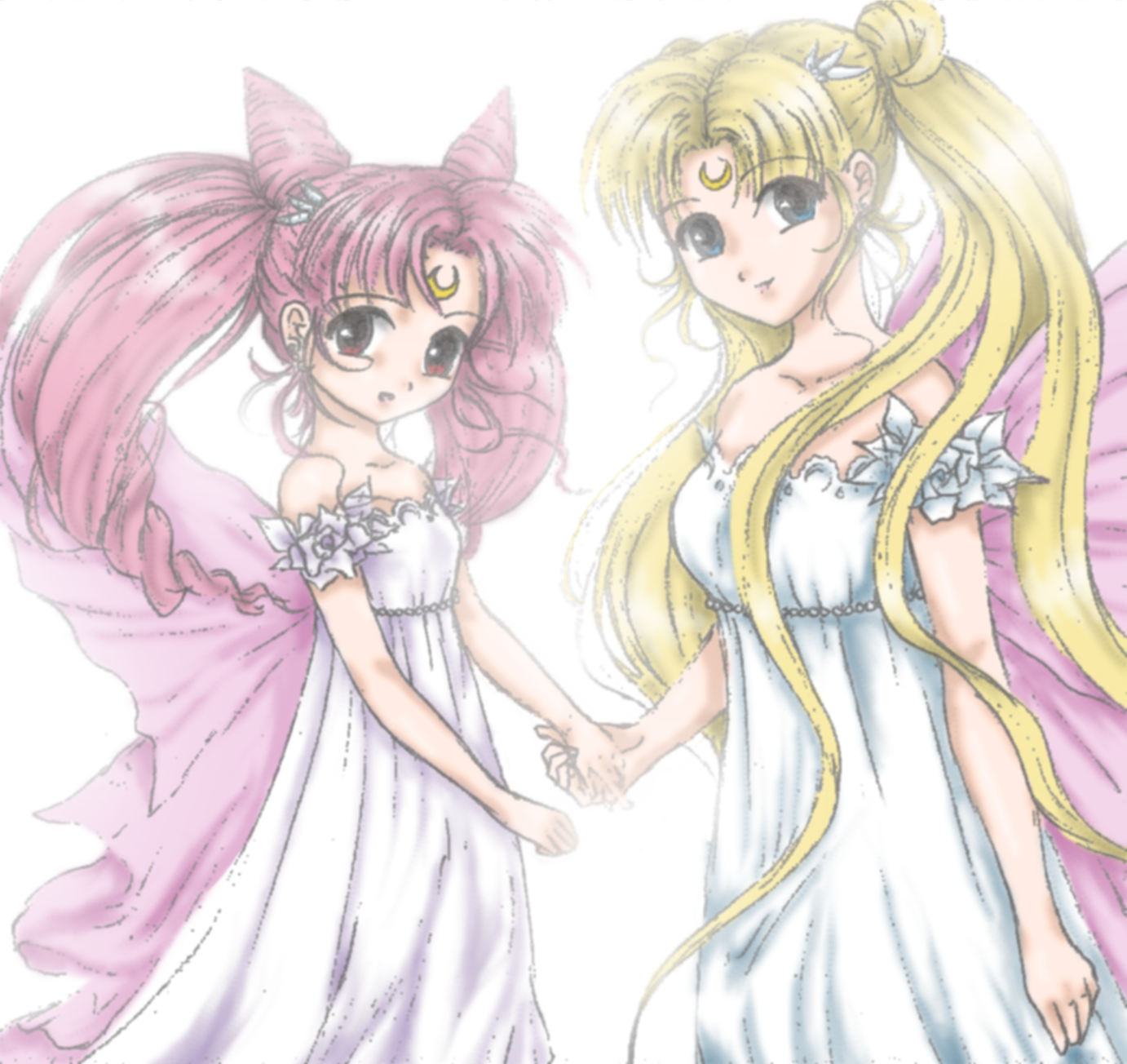 Taller de Neo Sailor Moon Serenity_and_Chibiusa_by_Moonbeam_Knight