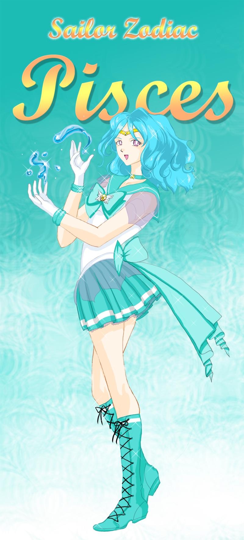 Sailor Zodiac Pisces By KamatariYaoi On DeviantArt