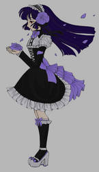 Gothic Lolita (colored) by yangtaro