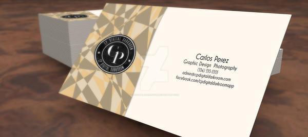 Business Card Mockup by CPDigitalDarkroom