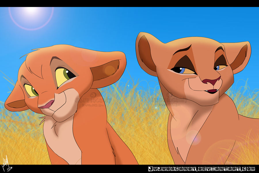 Kovu and Kiara's Cubs by jujubacandy on DeviantArt