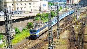 Train in Prague