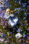 Colette in the flowers