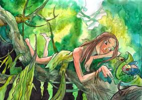In the jungle by 6vedik