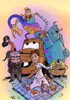Pixar by 6vedik