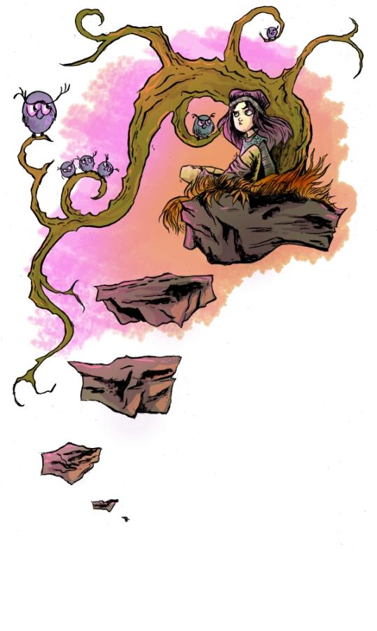 On the rock by 6vedik