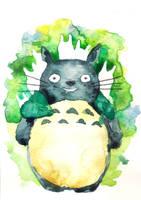 Totoro by 6vedik