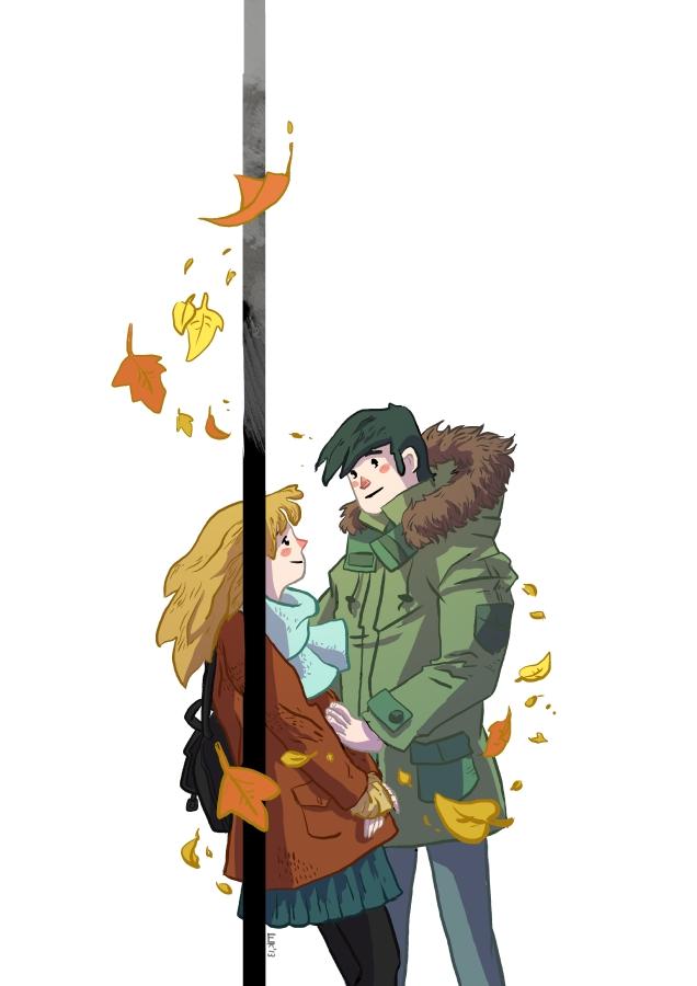 Leaf fall by 6vedik