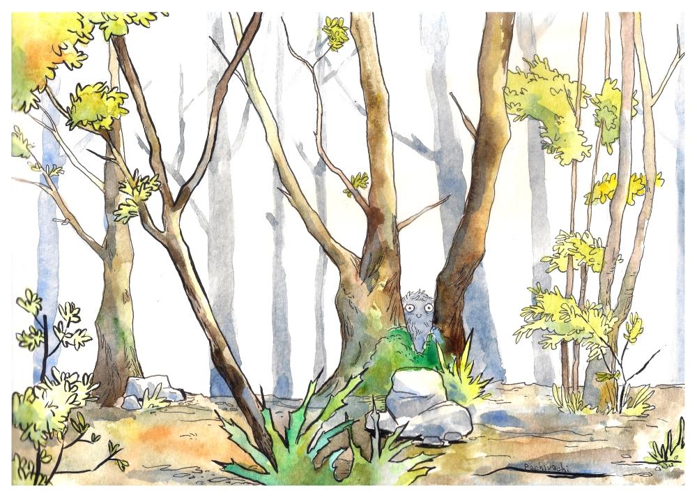 Forest by 6vedik
