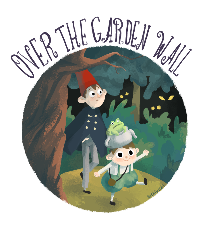 Over the garden wall by 6vedik