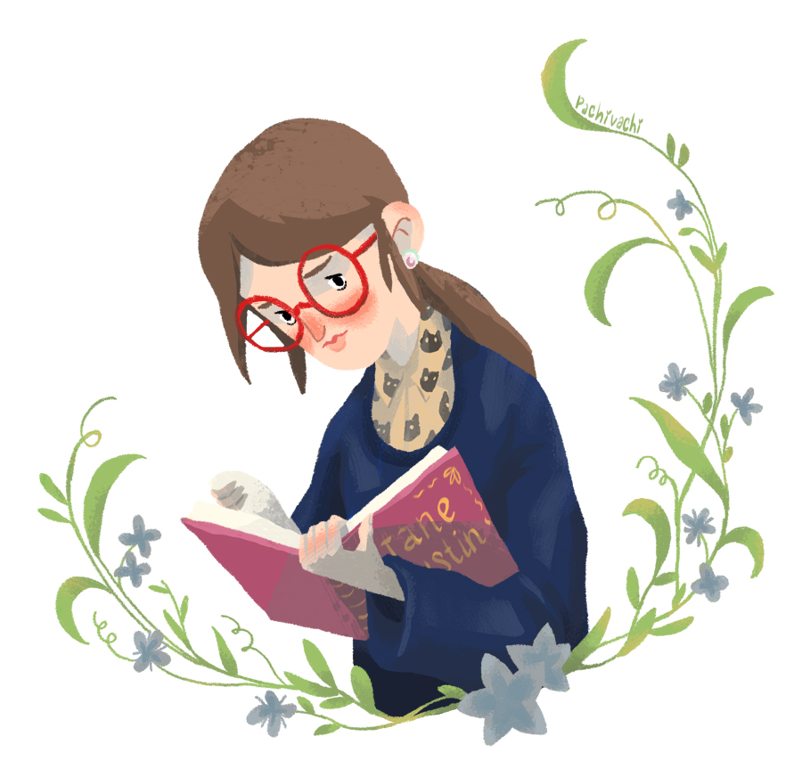 Book lover by 6vedik