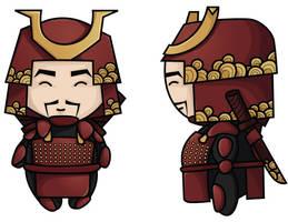 Samurai by BlissInMyCoffee