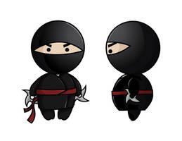 Ninja by BlissInMyCoffee