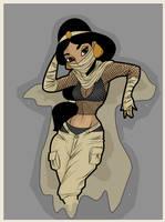 Princess Jasmine - Sand Bender by BlissInMyCoffee
