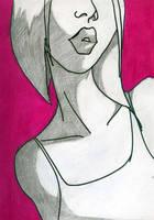 Retro Girl by BlissInMyCoffee