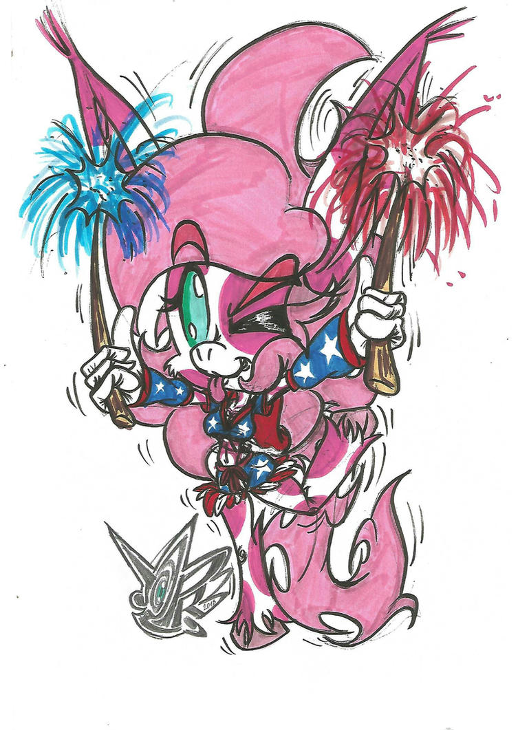 Jeffy says Happy 4th of July (Independence Day) by JC2PR
