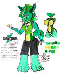 [ORIGINAL] Davina the Deviant Robotic Fox by JC2PR