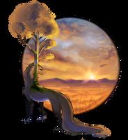 [TWWM] Edge of the sunset by Kselena-Vonta