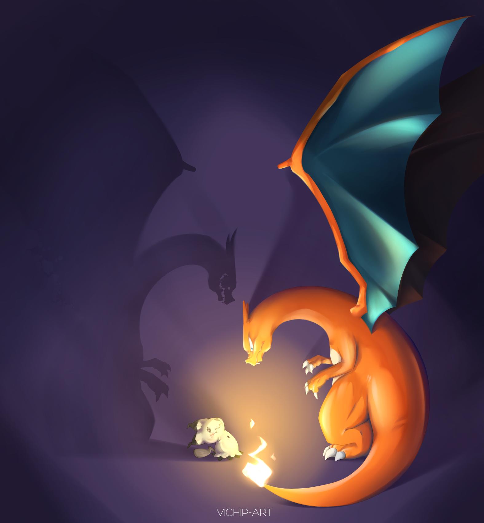 Pokemon: Mimic You by Vichip-Art