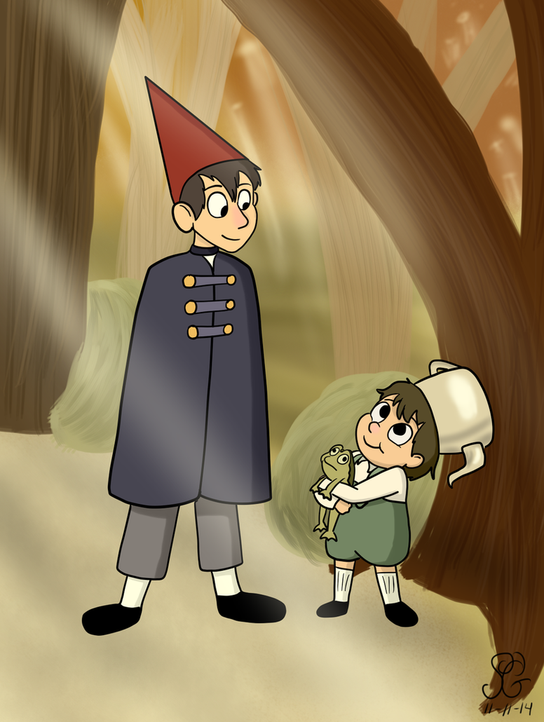 Over The Garden Wall By Bobcatangel On Deviantart
