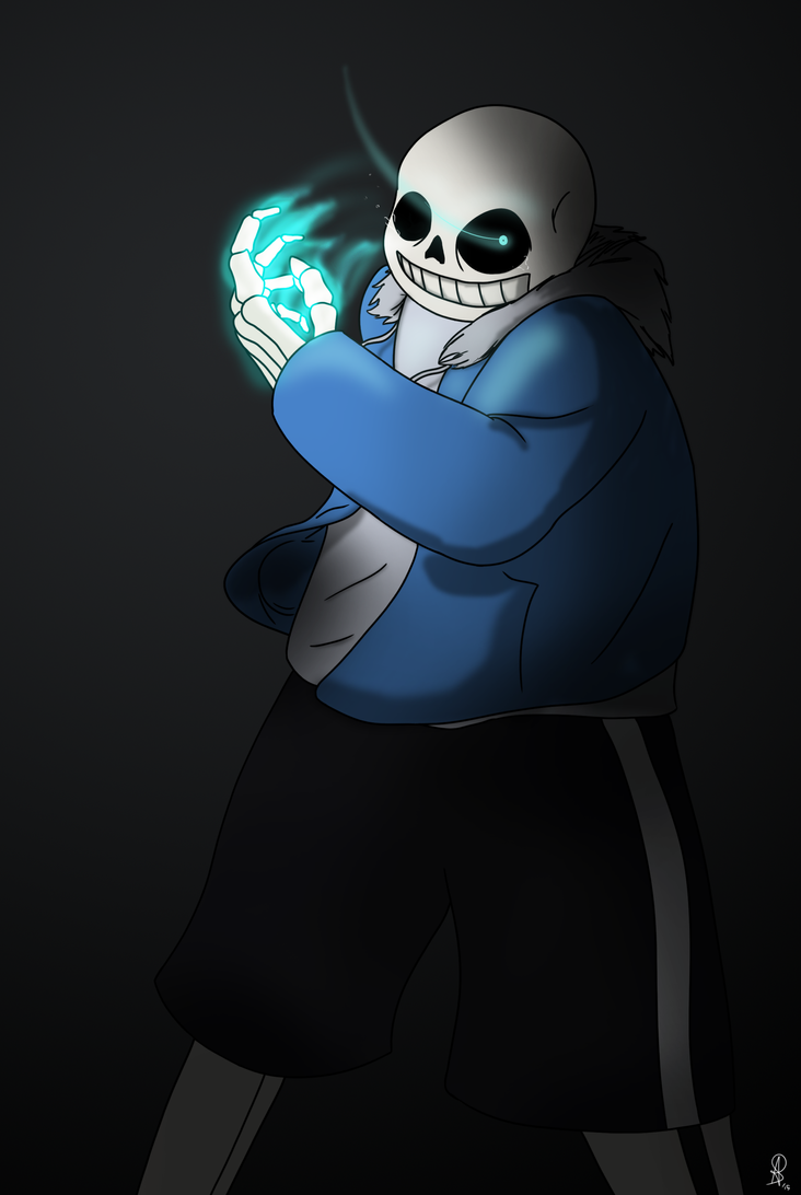 Undertale - Sans - My Turn by AnotherDemon