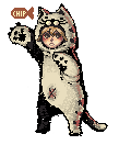 Little Cat Pixel Art by ChippyFish